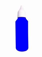 50 ml d'encre bleue